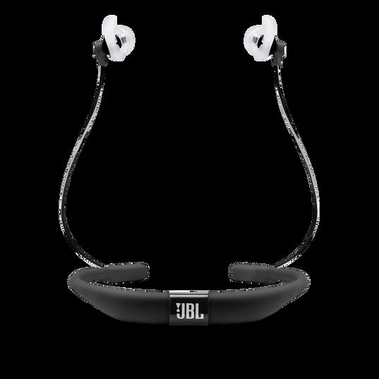 JBL Reflect Fit - Black - Heart Rate Wireless Headphones - Back