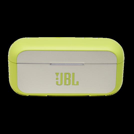 JBL Reflect Flow - Green - True wireless sport headphones. - Detailshot 4