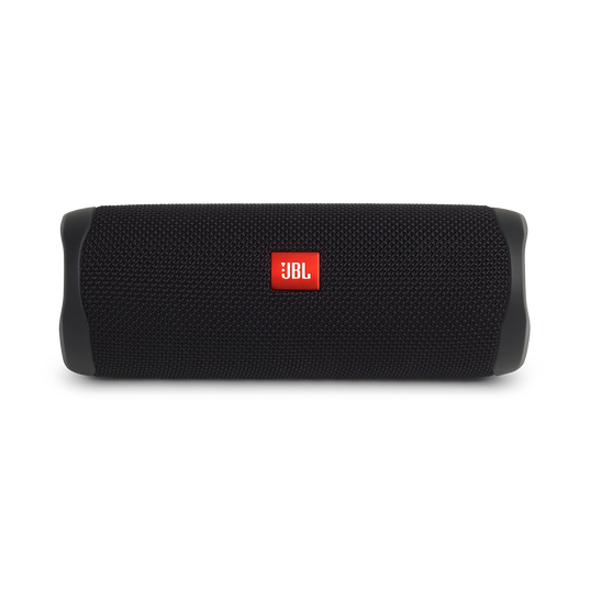 JBL FLIP 5 - Black - Portable Waterproof Speaker - Front