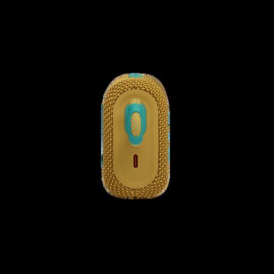 JBL GO 3 - Yellow - Portable Waterproof Speaker - Left
