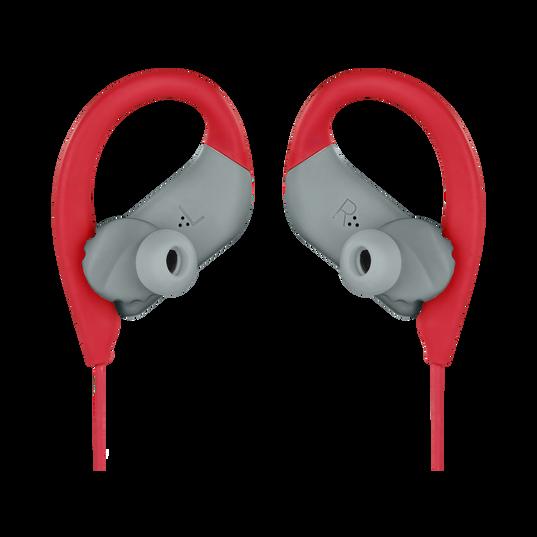 JBL Endurance SPRINT - Red - Waterproof Wireless In-Ear Sport Headphones - Detailshot 3