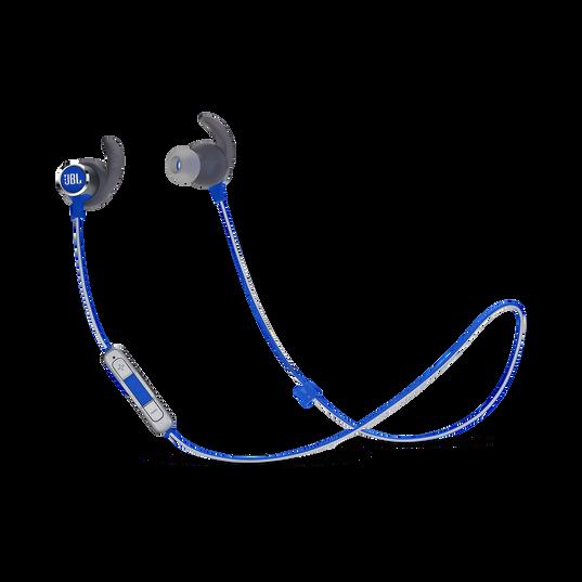 JBL REFLECT MINI 2 - Blue - Lightweight Wireless Sport Headphones - Hero