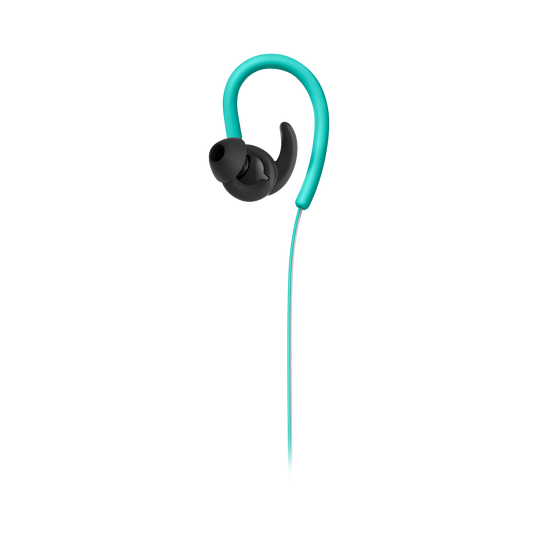 Reflect Contour - Teal - Secure fit wireless sport headphones - Front