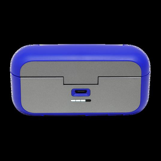 JBL Reflect Flow - Blue - Waterproof true wireless sport earbuds - Detailshot 1