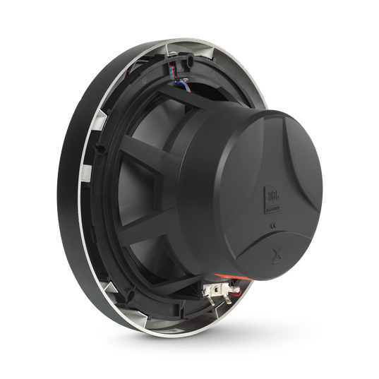 "Club Marine MS8B - Black Matte - Club Marine MS8B—8"" (200mm) two-way marine audio multi-element speaker – Black - Detailshot 1"