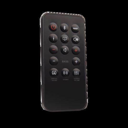 JBL Cinema Base - Black - Home cinema 2.2 all in one soundbase for television - Detailshot 2