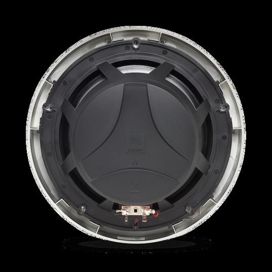 "Club Marine MS8LB - Black Matte - Club Marine MS8LB—8"" (200mm) two-way marine audio multi-element speaker with RGB lighting – Black - Back"