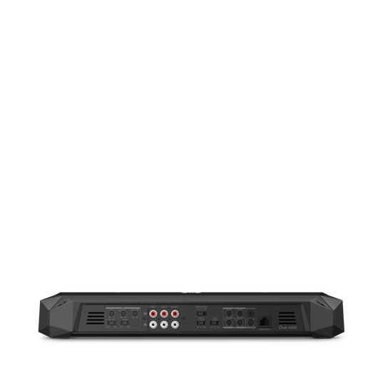 Club 4505 - Black - Mono, 4 and 5-channel amplifiers with a compact footprint for ease of installation into a larger variety of vehicles. - Back
