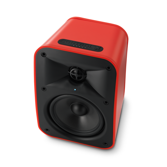 """JBL Control X Wireless - Red - 5.25"""" (133mm) Portable Stereo Bluetooth® Speakers - Detailshot 12"""