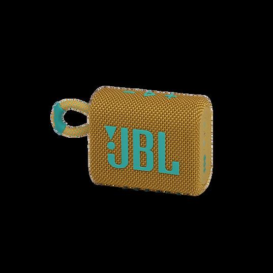 JBL GO 3 - Yellow - Portable Waterproof Speaker - Hero