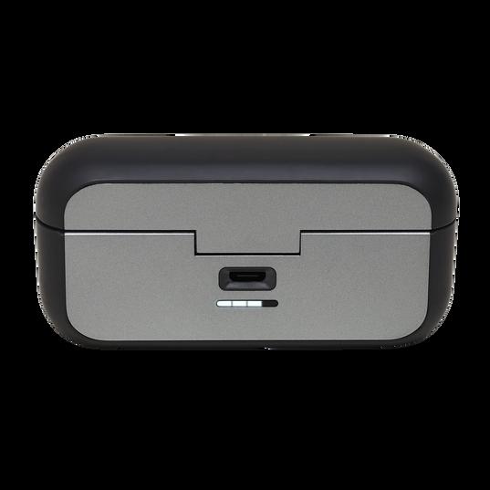 JBL Reflect Flow - Black - Waterproof true wireless sport earbuds - Detailshot 1