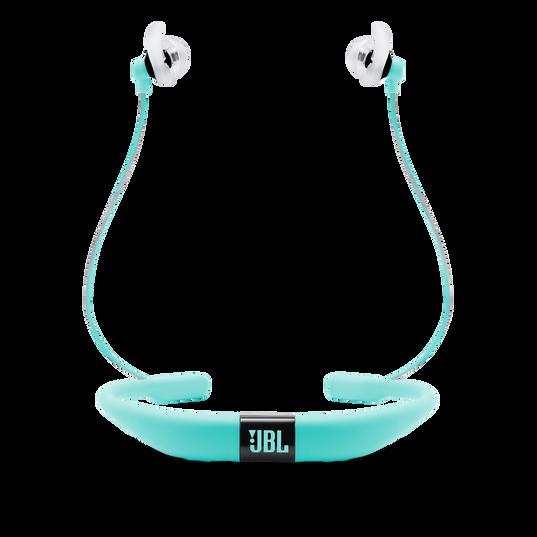 JBL Reflect Fit - Teal - Heart Rate Wireless Headphones - Back