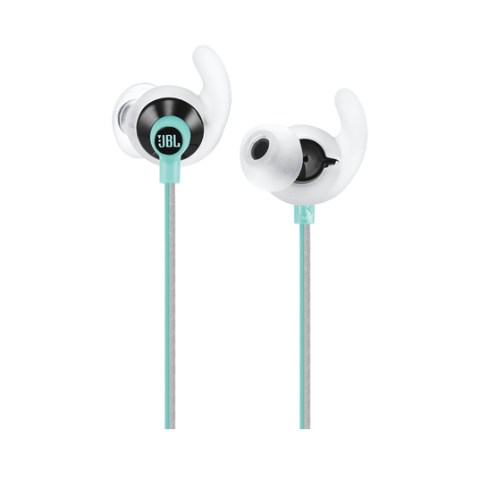 JBL Reflect Fit - Teal - Heart Rate Wireless Headphones - Detailshot 1