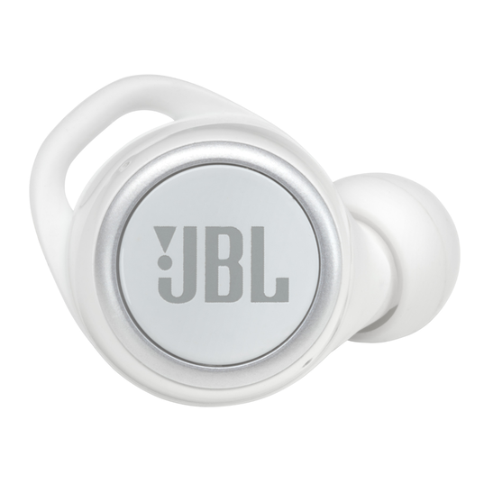 JBL Live 300TWS - White Gloss - True wireless in-ear headphones with Smart Ambient - Detailshot 1