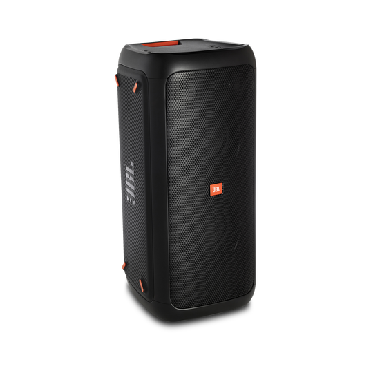JBL PartyBox 200 - Black - Portable Bluetooth party speaker with light effects - Detailshot 1