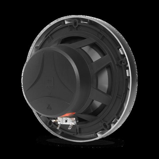 "Club Marine MS65LB - Black Matte - Club Marine MS65LB—6-1/2"" (160mm) two-way marine audio multi-element speaker with RGB lighting – Black - Detailshot 1"