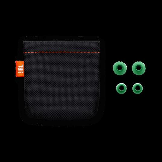 JBL LIVE 100 - Green - In-ear headphones - Detailshot 3