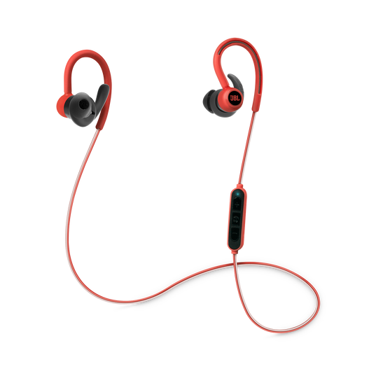 Reflect Contour - Red - Secure fit wireless sport headphones - Hero