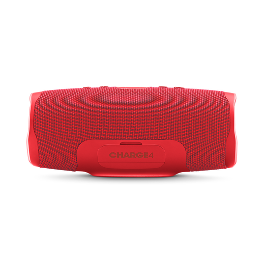 JBL Charge 4 - Red - Portable Bluetooth speaker - Back