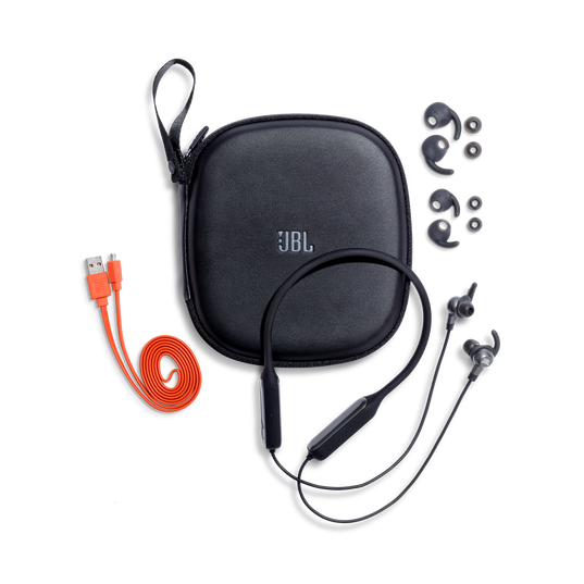 JBL EVEREST™ ELITE 150NC - Gun Metal - Wireless In-Ear NC headphones - Detailshot 3