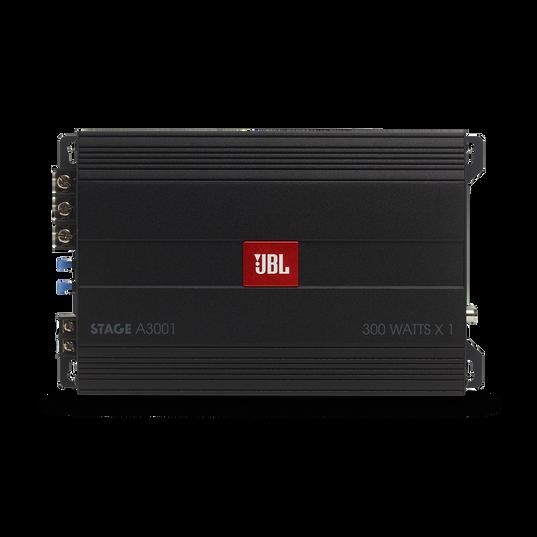 JBL Stage Amplifier A3001 - Black - Class D Car Audio Amplifier - Front