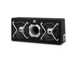 GT5-2402BR - Black - 2 x 30 cm (2 x 12 inch) woofers with a central Bass reflex port, more than enough bass for anyone - Hero