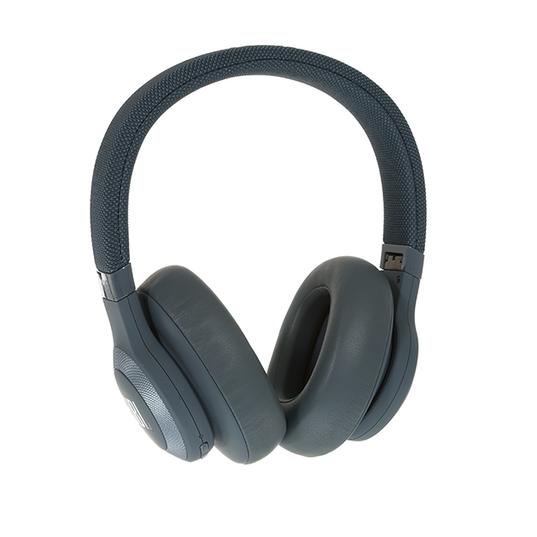 JBL E65BTNC - Blue - Wireless over-ear noise-cancelling headphones - Detailshot 15