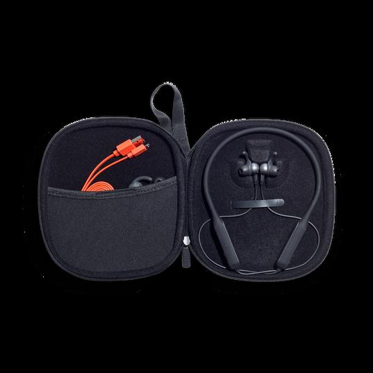 JBL EVEREST™ ELITE 150NC - Gun Metal - Wireless In-Ear NC headphones - Detailshot 2