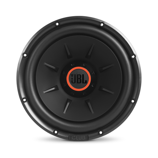 """Club 1224 - Black - 10"""" (250mm) and 12"""" (300mm) car audio subwoofers - Front"""