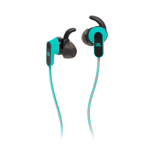 Reflect Aware - Teal - Lightning connector sport earphone with Noise Cancellation and Adaptive Noise Control. - Detailshot 1