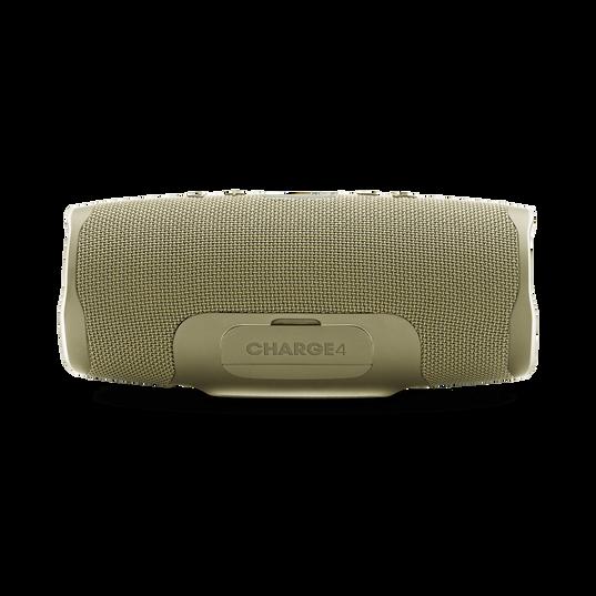 JBL Charge 4 - Sand - Portable Bluetooth speaker - Back