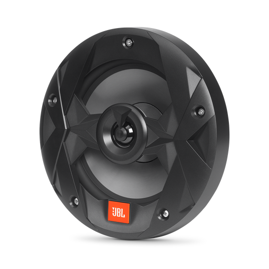 "Club Marine MS8LB - Black Matte - Club Marine MS8LB—8"" (200mm) two-way marine audio multi-element speaker with RGB lighting – Black - Hero"