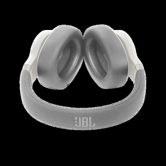 JBL E65BTNC - White - Wireless over-ear noise-cancelling headphones - Detailshot 1