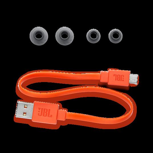 JBL LIVE 200BT - Black - Wireless in-ear neckband headphones - Detailshot 3