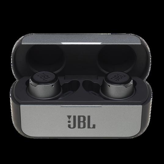 JBL Reflect Flow - Black - Waterproof true wireless sport earbuds - Hero
