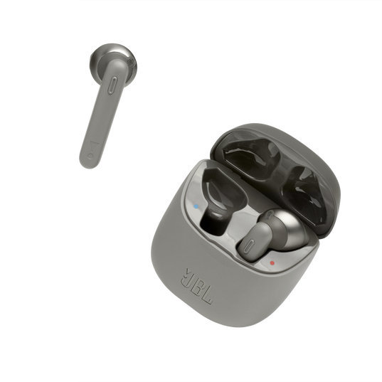 JBL Tune 220TWS - Grey - True wireless earbuds - Detailshot 2