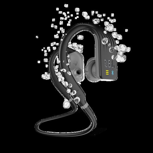 JBL Endurance DIVE - Black - Waterproof Wireless In-Ear Sport Headphones with MP3 Player - Hero