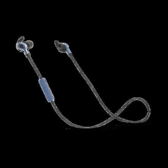 JBL EVEREST™ 110 - Steel Blue - Wireless In-ear headphones - Hero