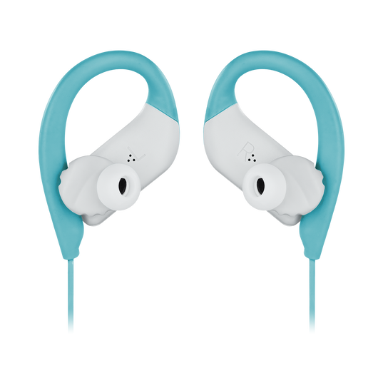 JBL Endurance SPRINT - Teal - Waterproof Wireless In-Ear Sport Headphones - Detailshot 3