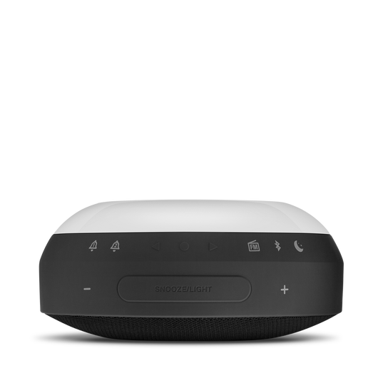 JBL Horizon - Black - Bluetooth clock radio with USB charging and ambient light - Detailshot 7