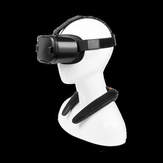 JBL SOUNDGEAR - Black - Wearable wireless sound - Detailshot 1