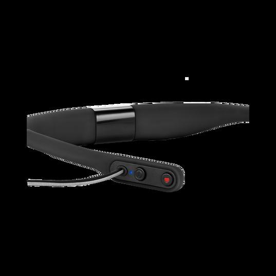 JBL Reflect Fit - Black - Heart Rate Wireless Headphones - Detailshot 3