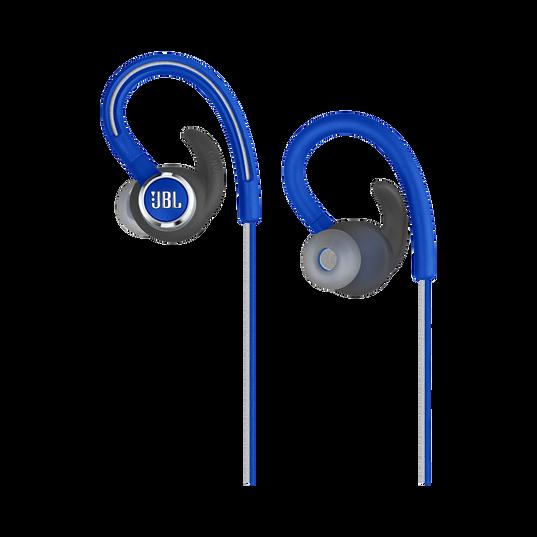 JBL Reflect Contour 2 - Blue - Secure fit Wireless Sport Headphones - Detailshot 2