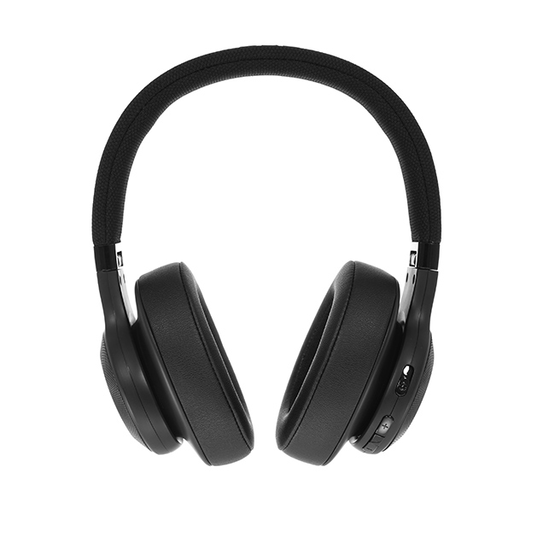 JBL E55BT - Black - Wireless over-ear headphones - Detailshot 15