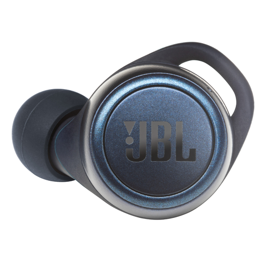 JBL Live 300TWS - Blue - True wireless in-ear headphones with Smart Ambient - Detailshot 2