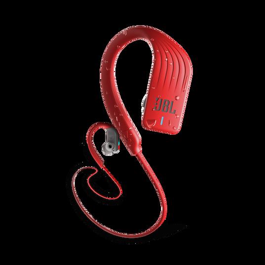 JBL Endurance SPRINT - Red - Waterproof Wireless In-Ear Sport Headphones - Hero