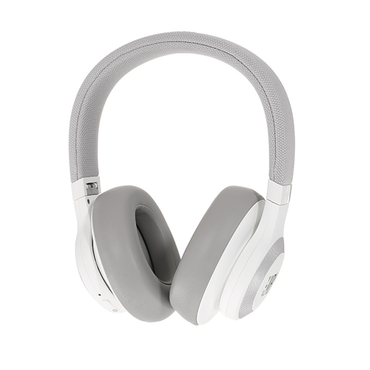 JBL E65BTNC - White - Wireless over-ear noise-cancelling headphones - Detailshot 15