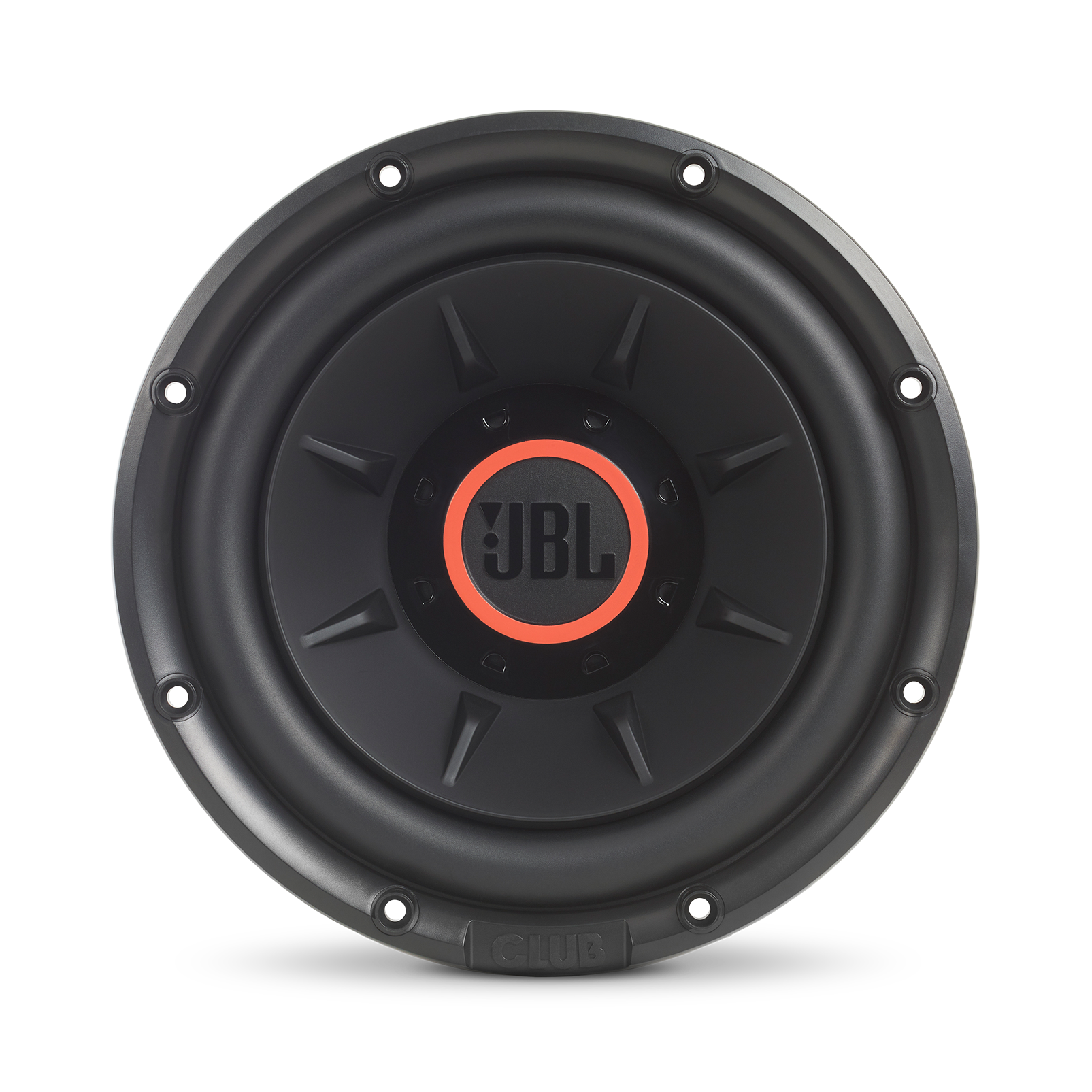 """Club 1024 - Black - 10"""" (250mm) and 12"""" (300mm) car audio subwoofers - Front"""