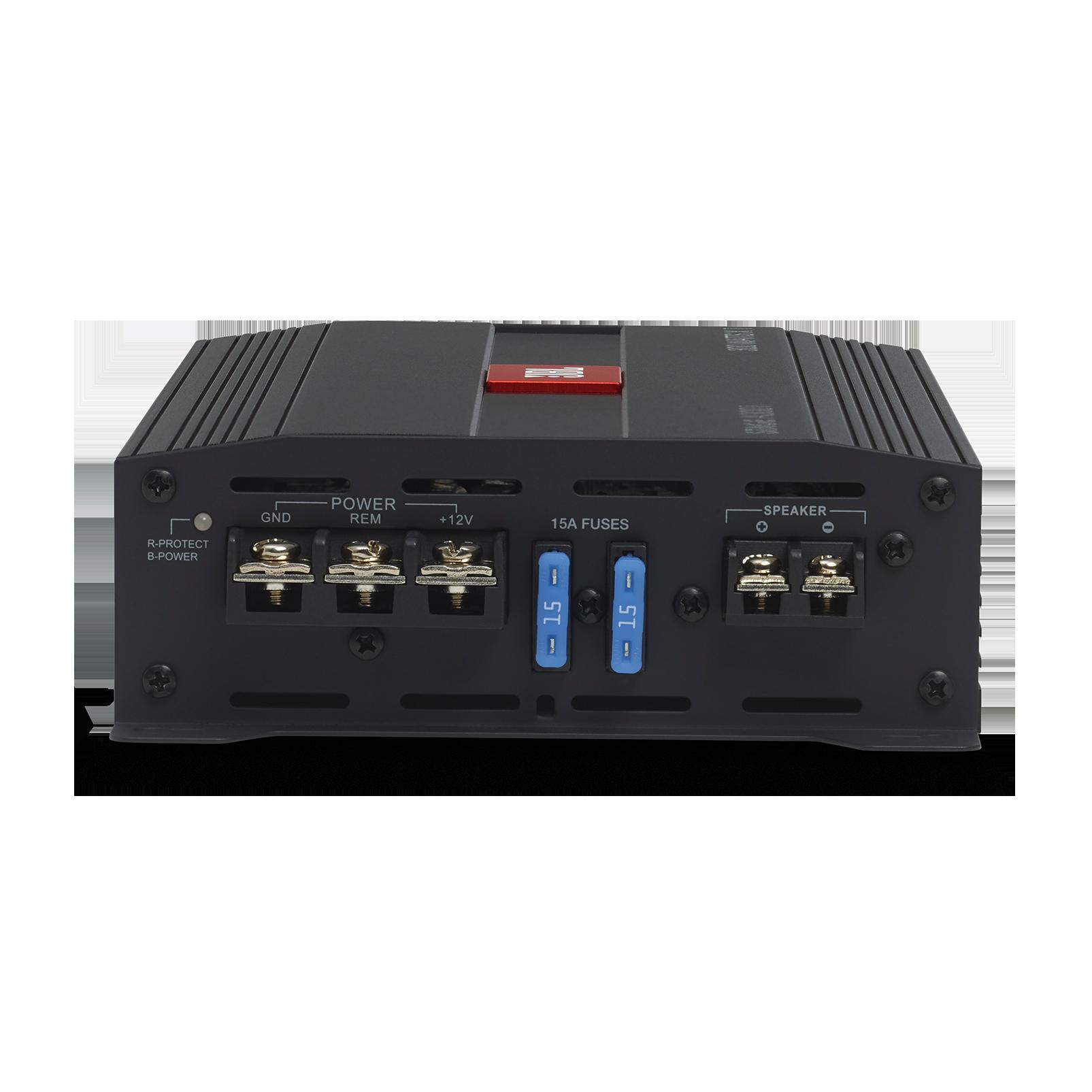 JBL Stage Amplifier A3001 - Black - Class D Car Audio Amplifier - Detailshot 1