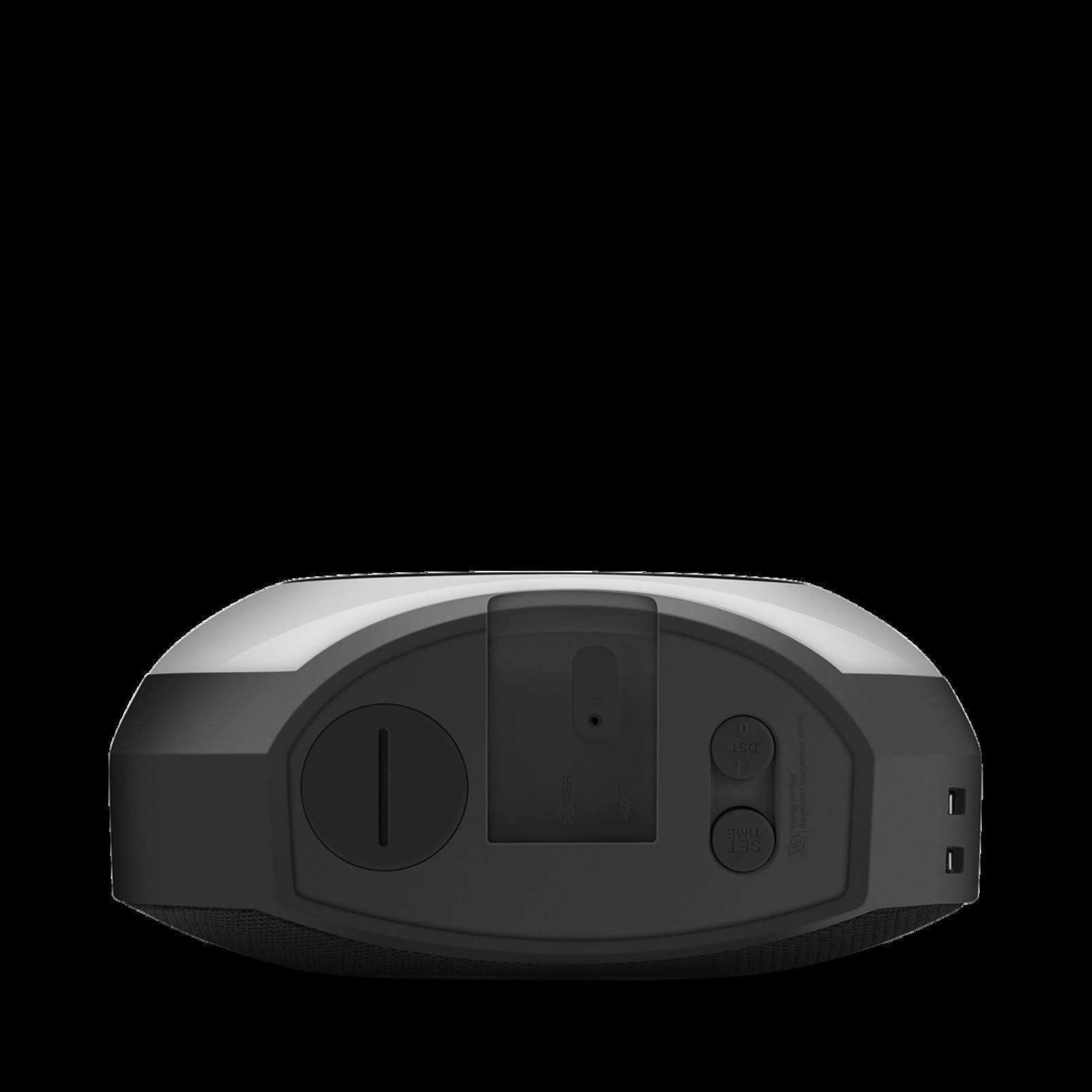 JBL Horizon - Black - Bluetooth clock radio with USB charging and ambient light - Detailshot 4